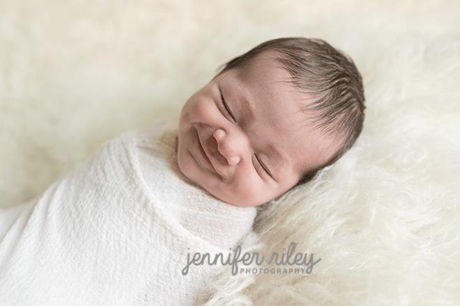 Smiling Newborn Frederick MD
