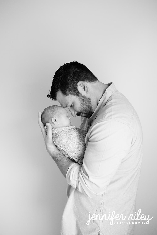 Father Daughter newborn