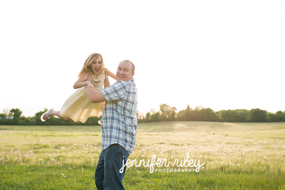 Daddy Daughter Frederick MD Photo