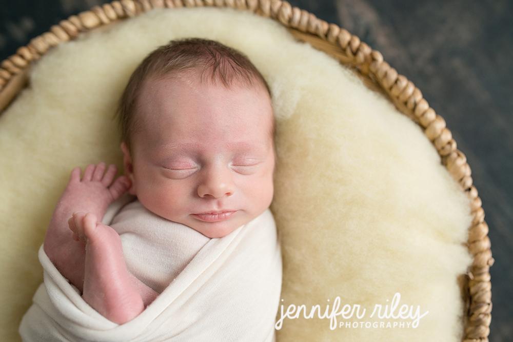 NewbornBaby inBasket