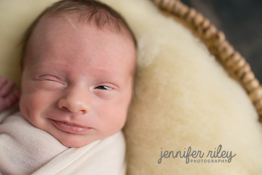 Winking babywithDimples