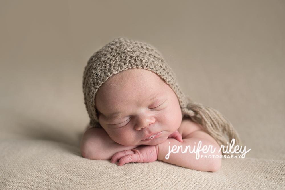 Newborn In hat Frederick MD