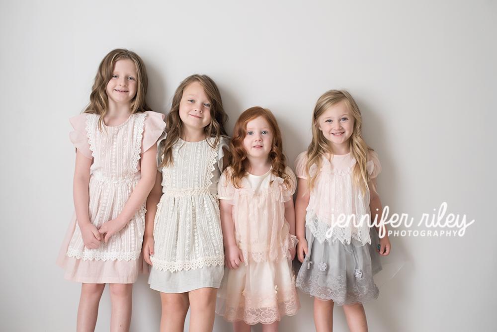Four Sisters Jennifer Riley Photography