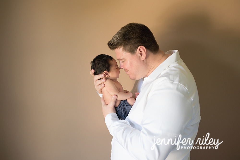 Newborn and Daddy Photography