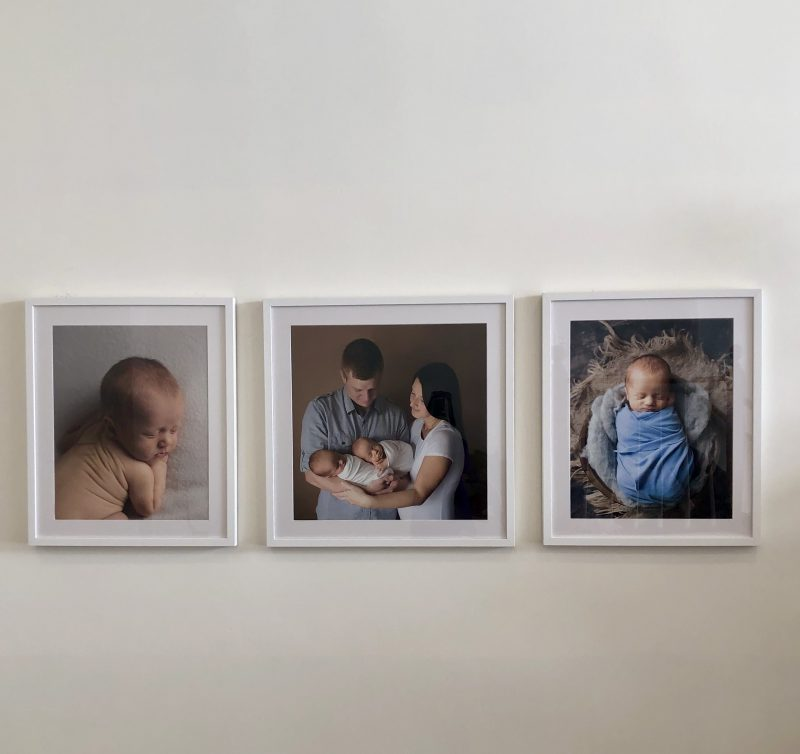 Newborn Framed Prints