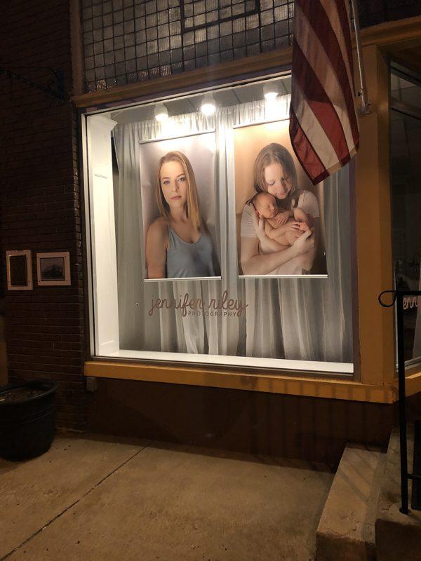 Storefront Jennifer Riley Photography Studio